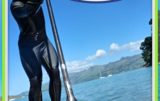 Training on Lyttelton, Sat Sup sessions.