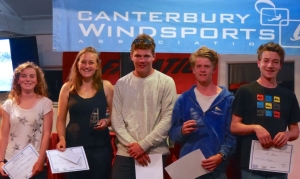 Junior/ Youth Fleet Podium Winners, 2016 Windsurf Slalom Nationals.
